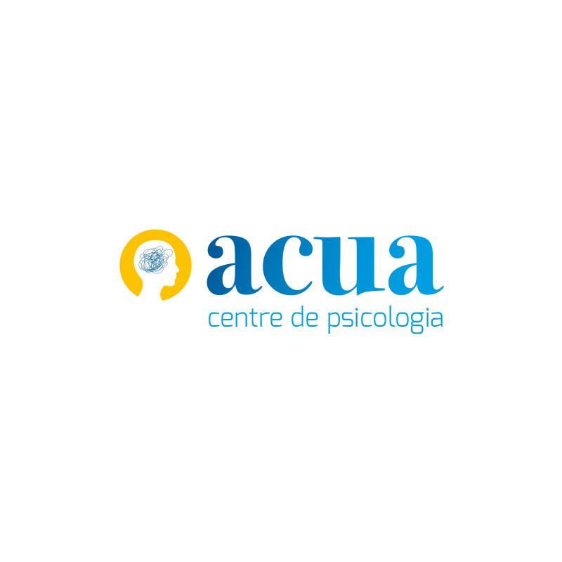 Diseño imagen corportaiva ACUA centre de psicologia